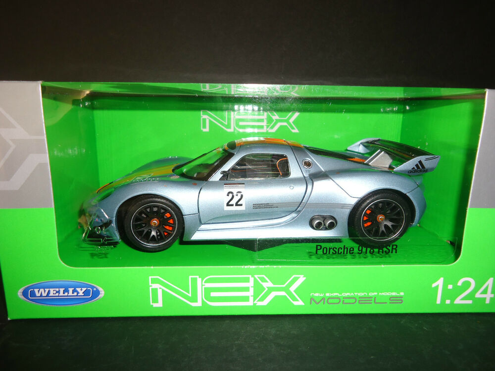 welly porsche 918 rsr race version 1 24 ebay. Black Bedroom Furniture Sets. Home Design Ideas