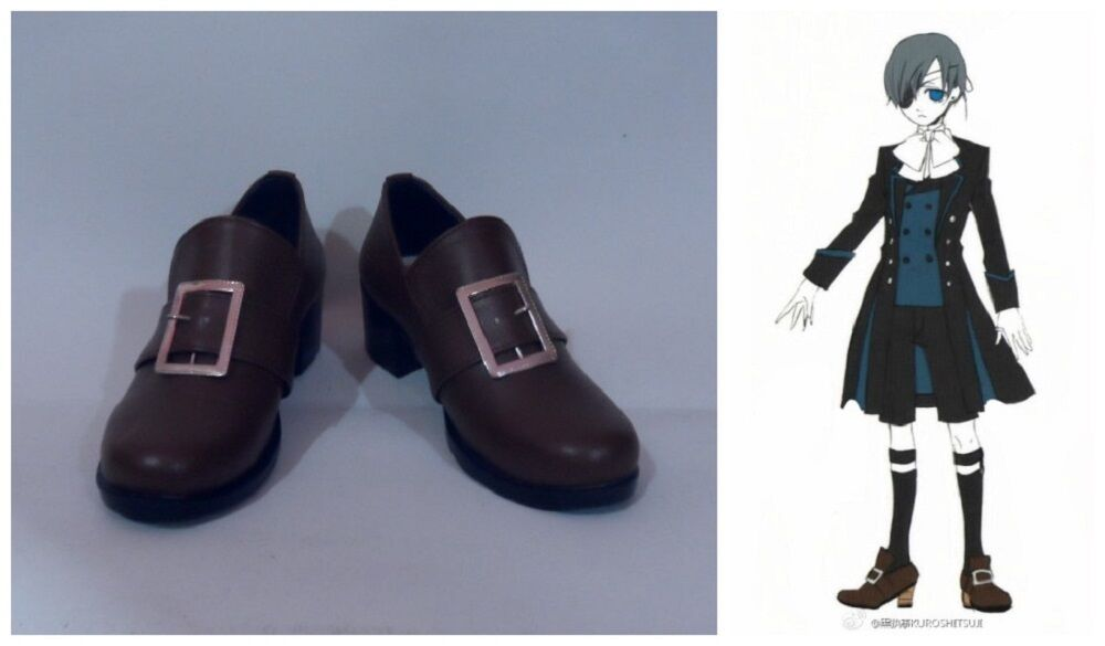 Black Butler Characters Shoes