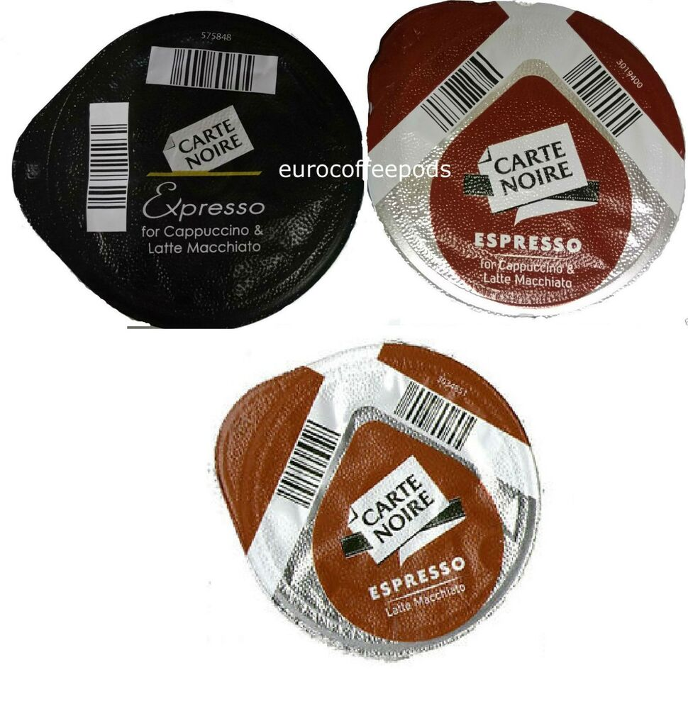 50 x tassimo carte noire espresso coffee t discs loose expresso pods blk ebay. Black Bedroom Furniture Sets. Home Design Ideas