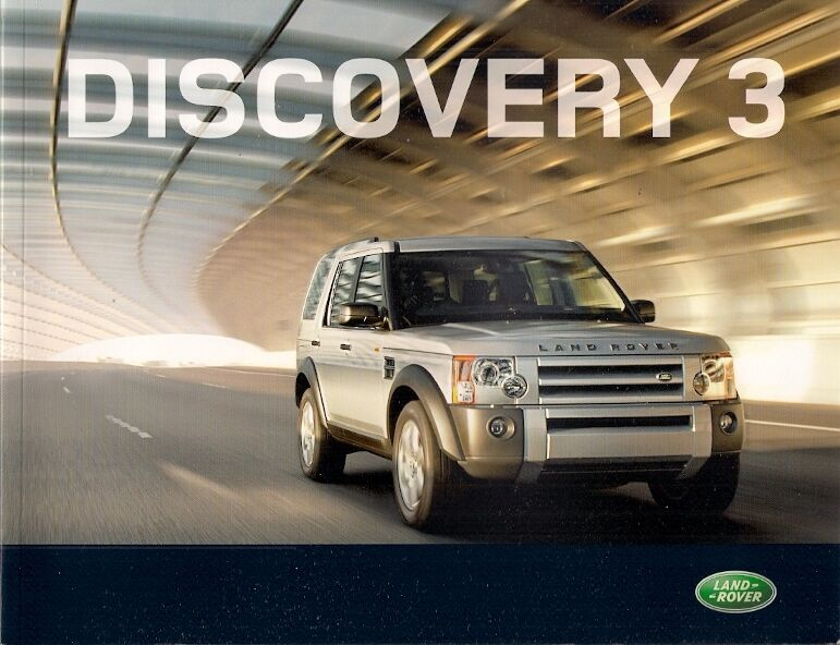 Land Rover Discovery 3 2007 08 Uk Market Sales Brochure