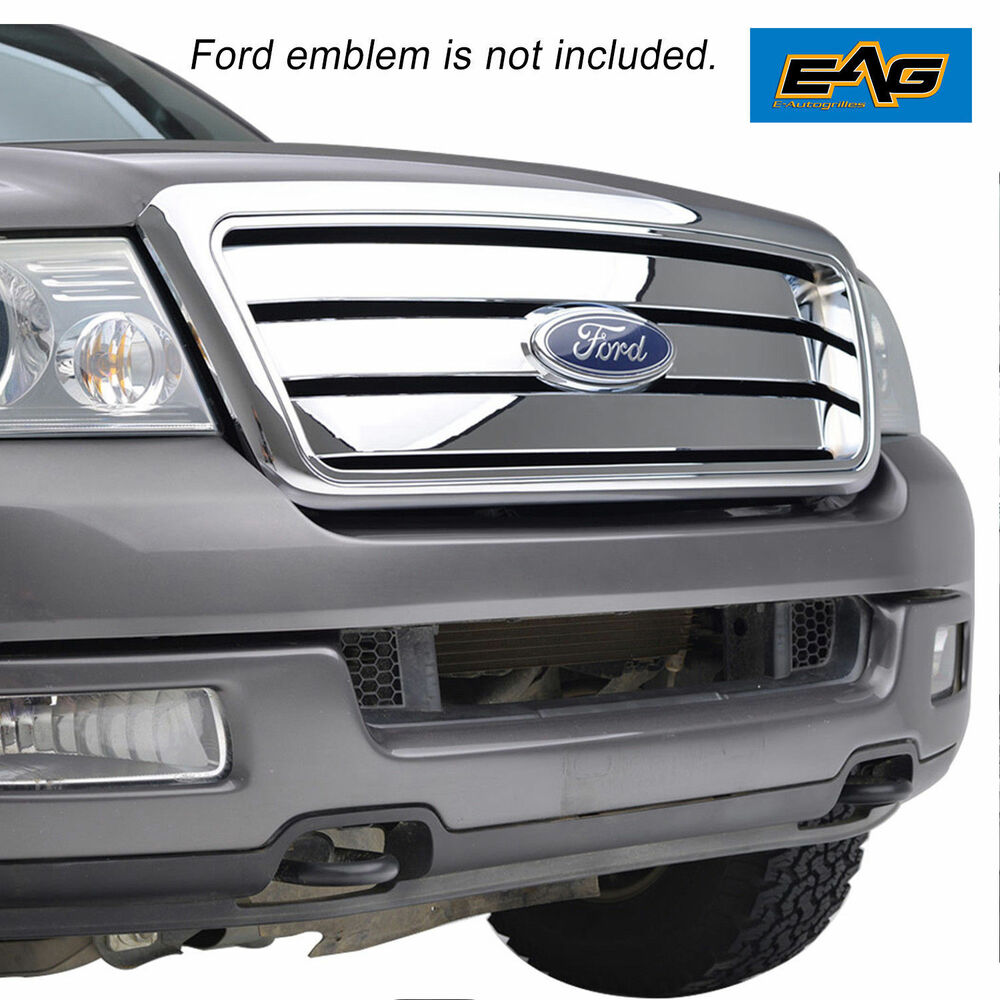 04 08 ford f150 abs chrome horizontal bar replacement. Black Bedroom Furniture Sets. Home Design Ideas