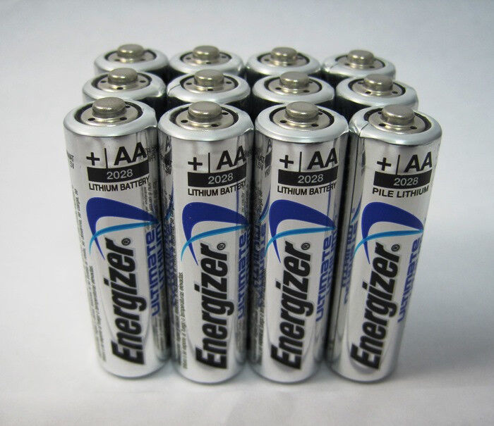 12 x energizer aa l91 ultimate lithium batteries expires 2036 ebay. Black Bedroom Furniture Sets. Home Design Ideas
