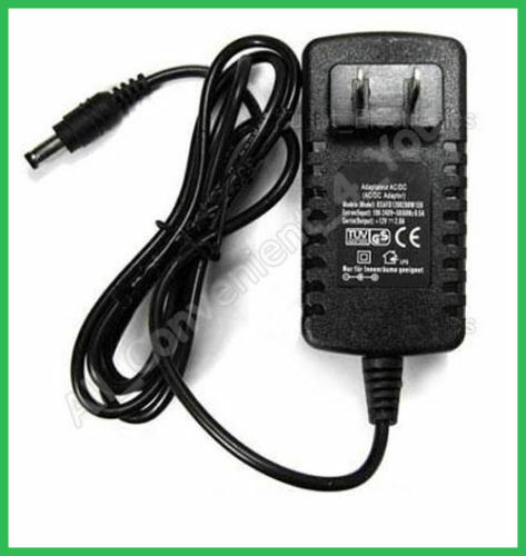 Us 2 Pin Plug Ac Dc 12v 1 2a 1200ma Power Supply Cord