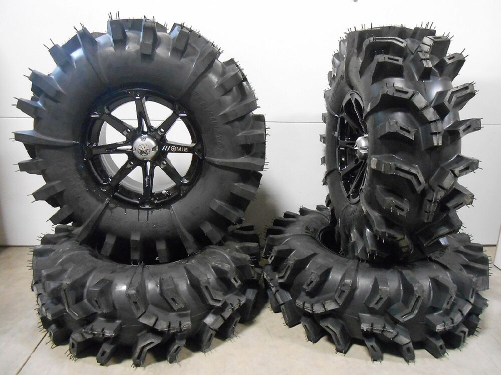 msa black diesel 14 utv wheels 32 terminator tires polaris rzr 1000 xp ebay. Black Bedroom Furniture Sets. Home Design Ideas