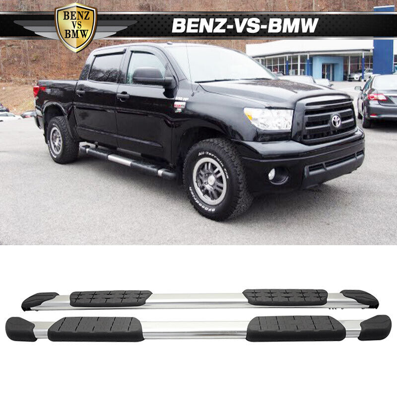 fit 07 17 toyota tundra crewmax cab aluminum oe side step. Black Bedroom Furniture Sets. Home Design Ideas