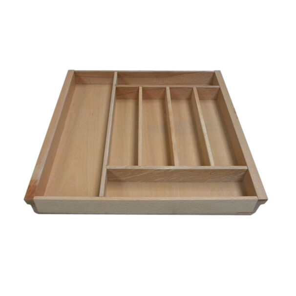 Kitchen Beech Cutlery Tray Drawer Insert (Selection Of