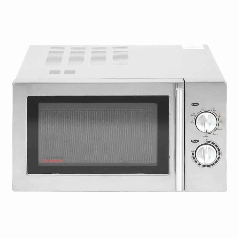 caterlite commercial microwave oven 900w stainless steel. Black Bedroom Furniture Sets. Home Design Ideas