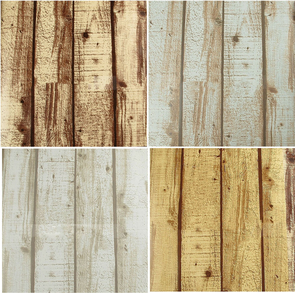 Wall mural vintage rustic 3d wood panel wide wooden plank for Mural on wood