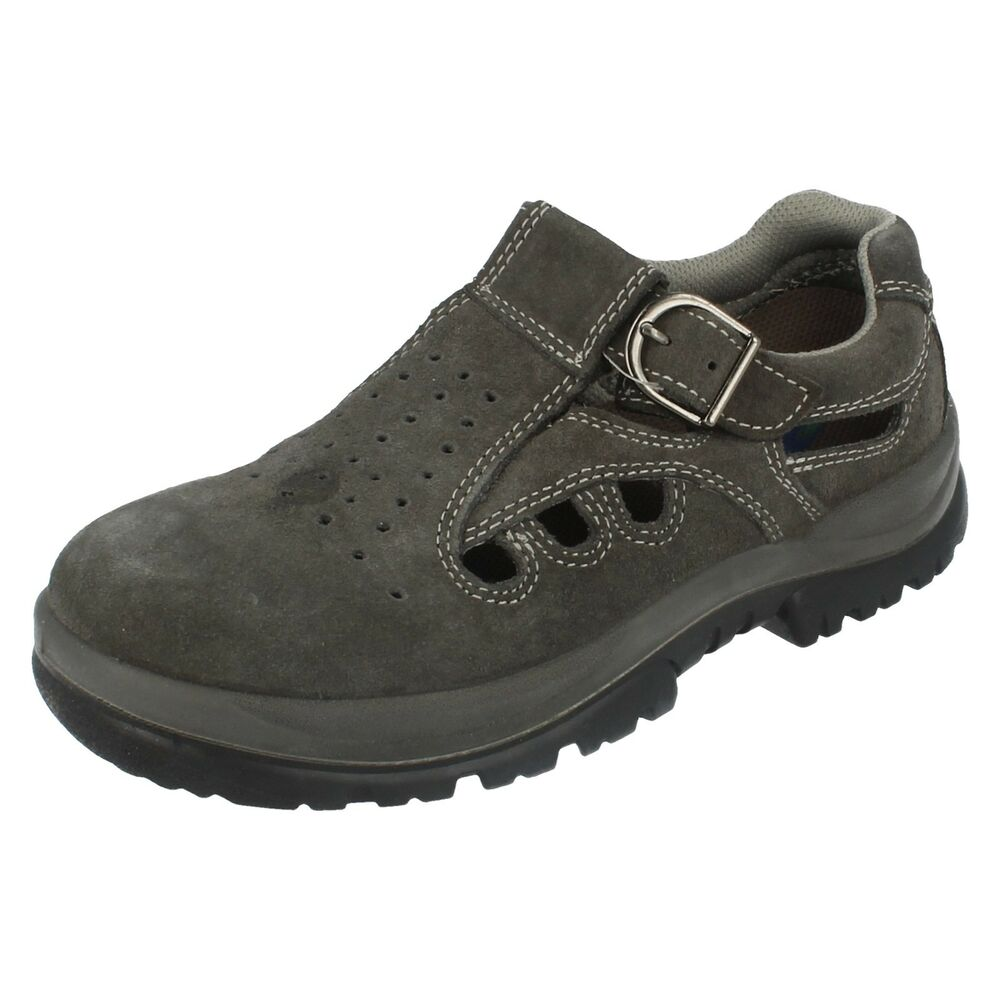 LADIES STEEL TOE CAPS GREY DEVELOP