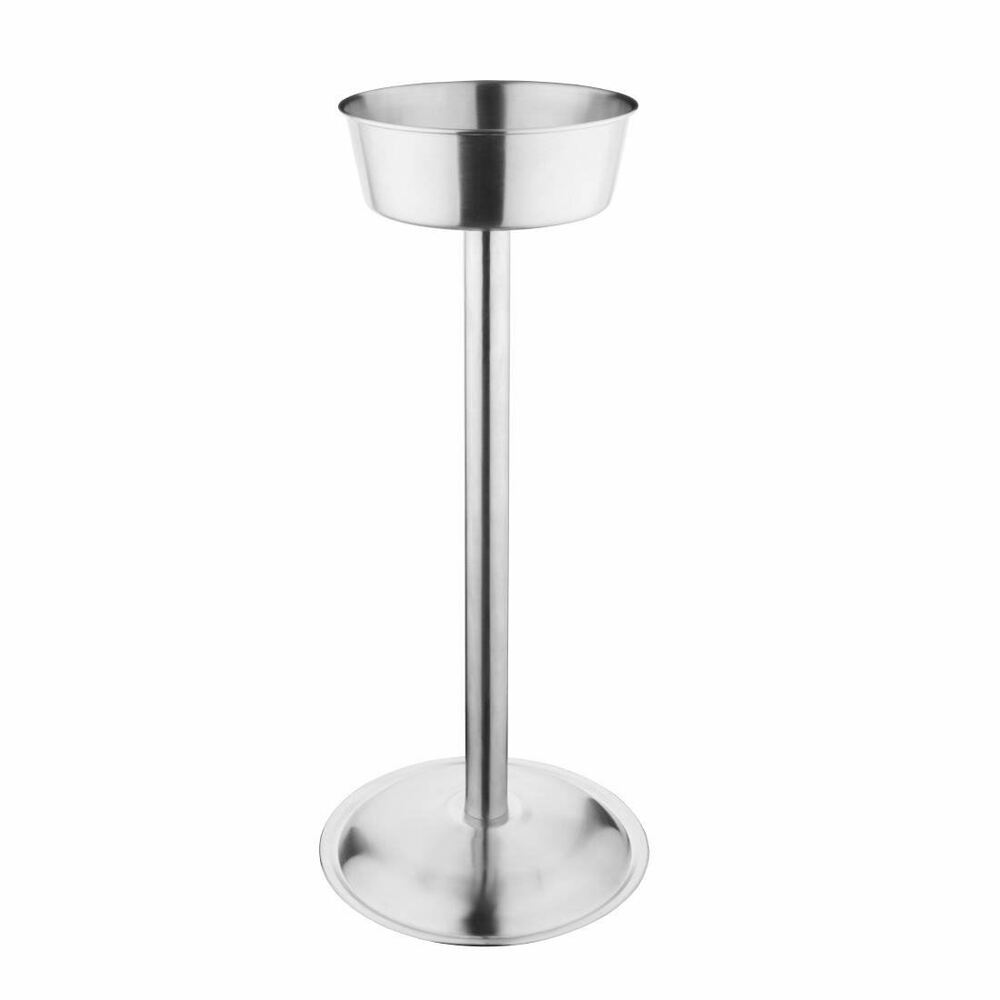 Wine Bucket Stand Stainless Steel Champagne Cooler Ice