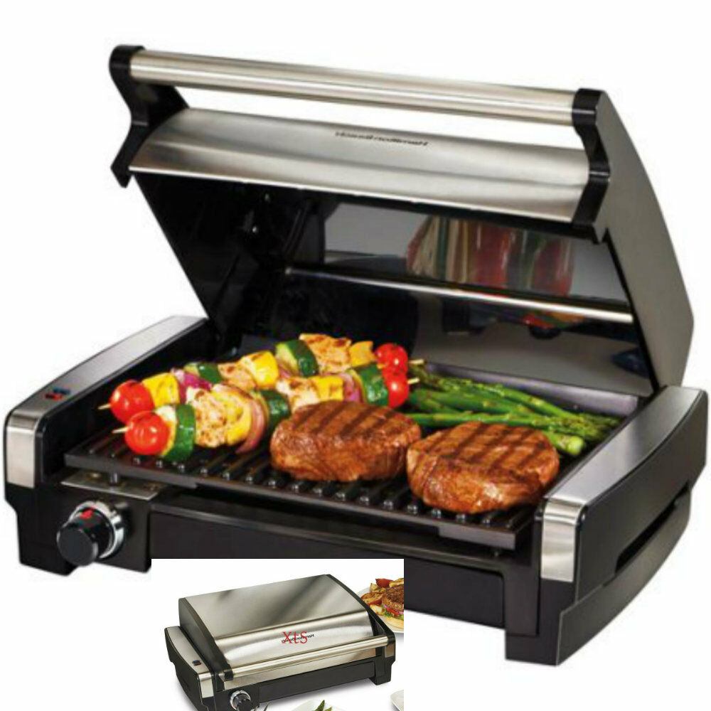 Countertop Electric Grill : Indoor BBQ Grill Countertop Kitchen Appliance Searing Grills Lunch ...
