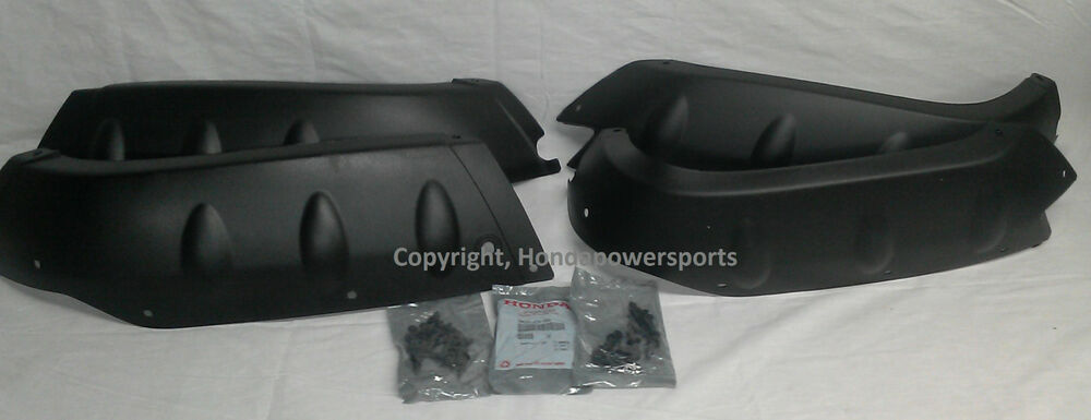 Honda Trx350 350 Rancher Fender Splash Guard Full Set Of 4