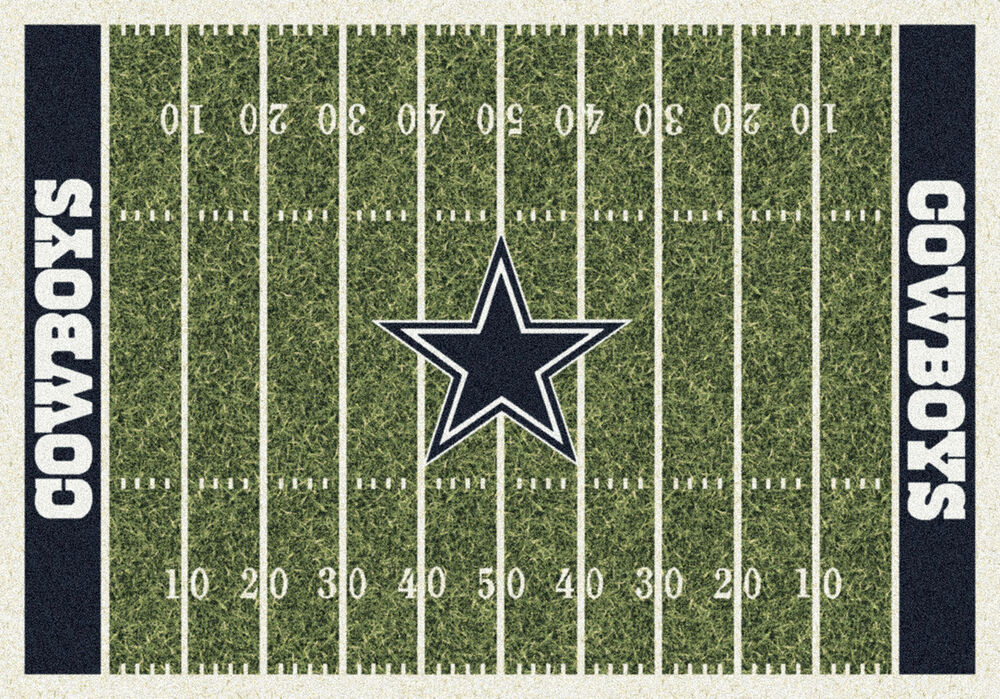 Dallas Cowboys Milliken Nfl Home Field Sports Area Rug Ebay