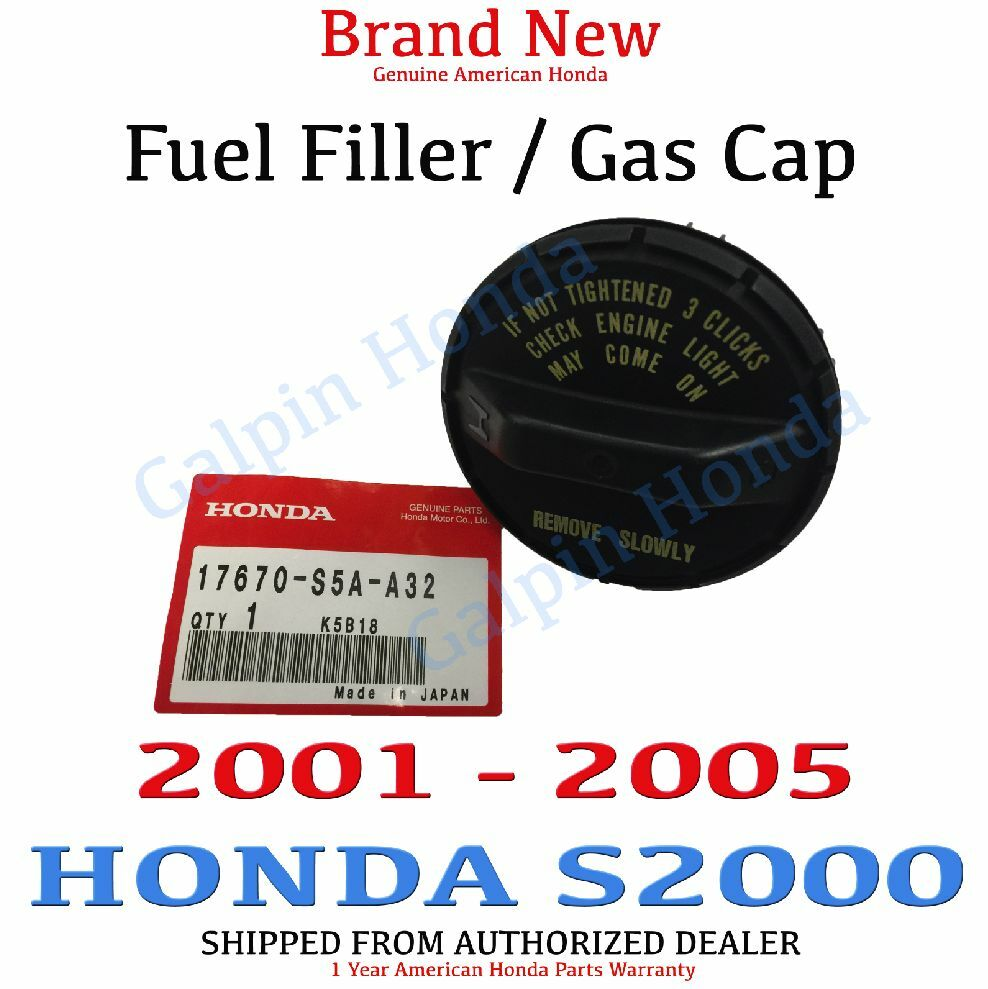 2001 2005 honda s2000 genuine factory oem gas fuel filler. Black Bedroom Furniture Sets. Home Design Ideas