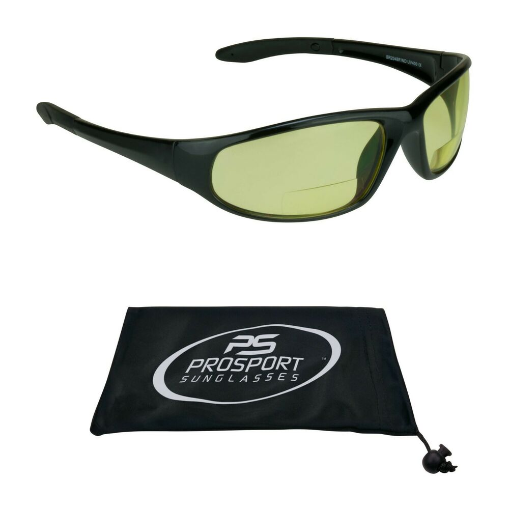 b8aed28ec23 Z87 Safety Yellow Lens Night Vision Bifocal Reader Glasses Driving Computer
