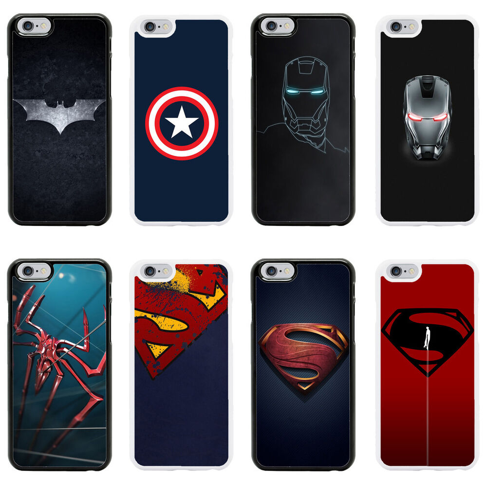 Marvel avengers dc superheroes case cover for apple iphone for Grove iphone 4 case