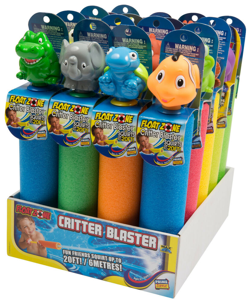 Critter Blaster Pool Toy Water Squirter Party Swim Class
