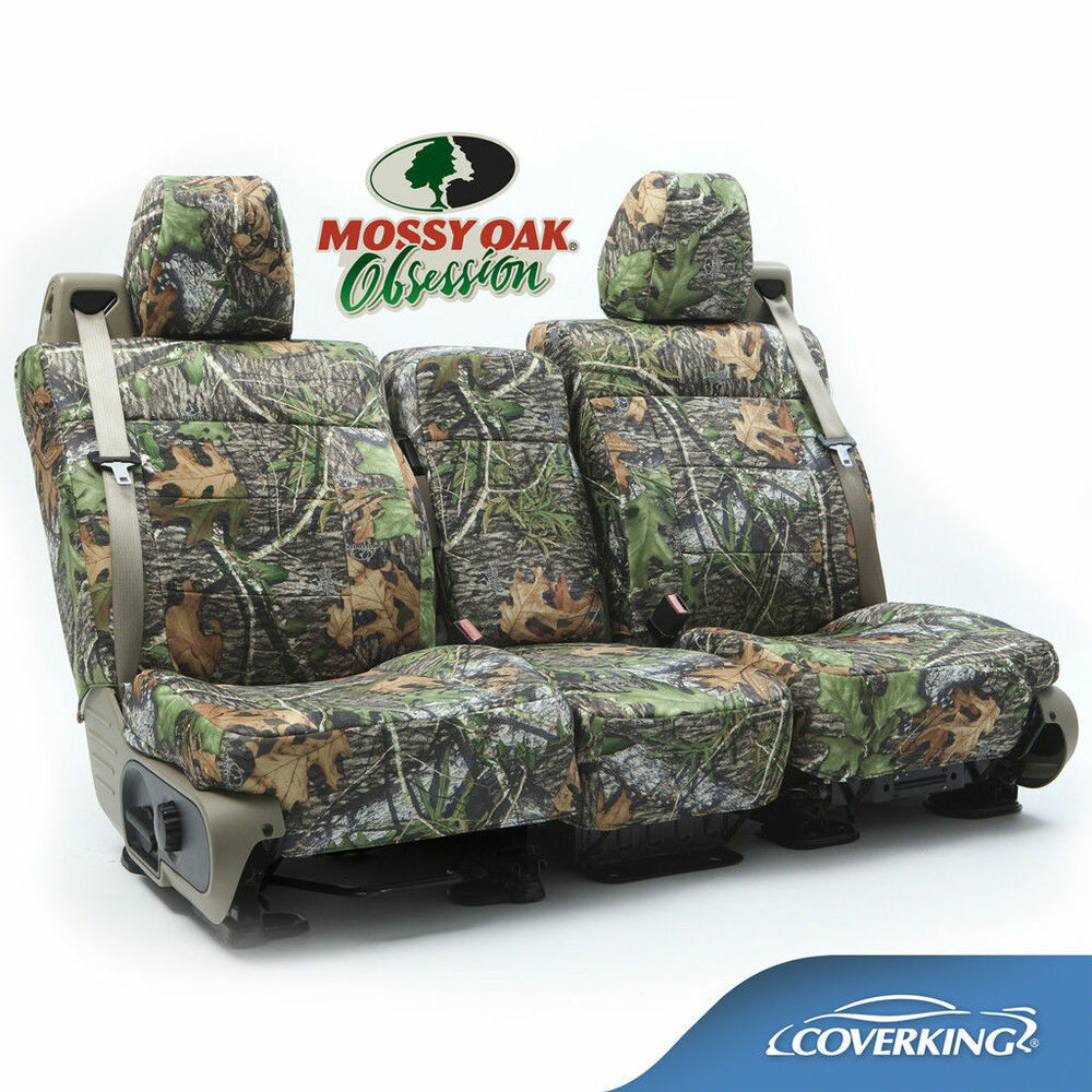 Coverking Neosupreme Mossy Oak Obsession Camo Front Seat
