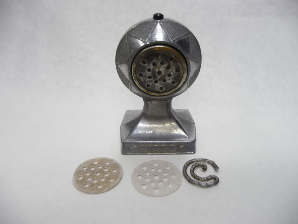 Vintage Ashtray Stand With Lighter