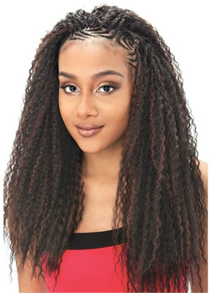 Buy Crochet Hair Uk : ... CURL MODEL MODEL GLANCE SYNTHETIC HAIR EXTENSION FOR BRAID eBay