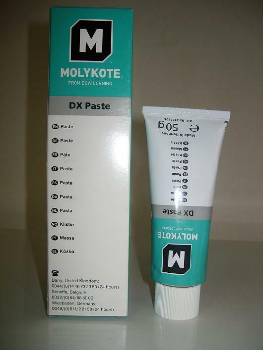 Dow Corning Molykote Dx Paste Grease 50g Nc37 Ebay