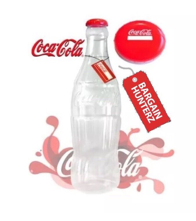 giant coca cola 60cm 2ft saving large coke coin bottle