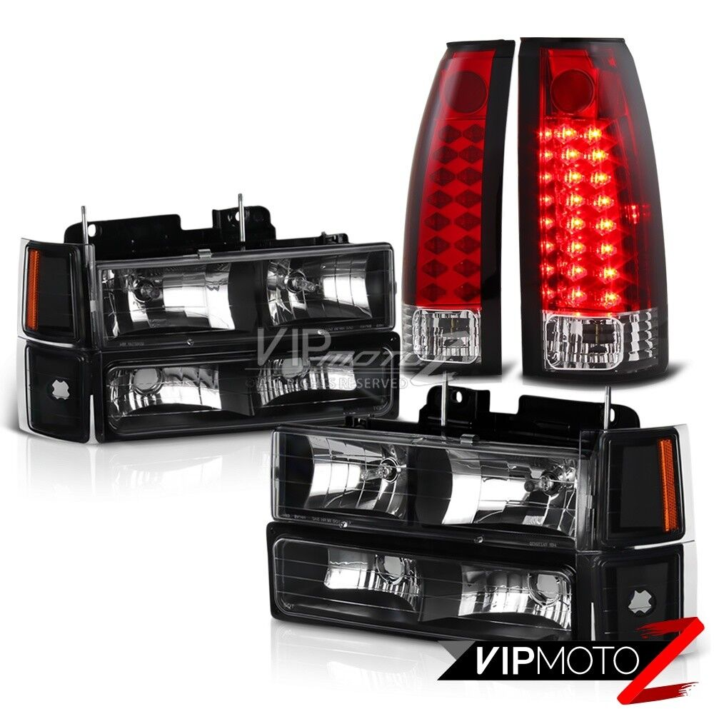 94 K 1500 2500 3500 2wd 4wd Red Led Tail