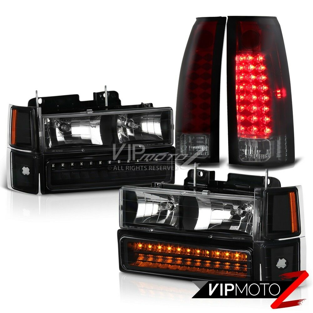 1994 1995 1996 1997 1998 chevy tahoe suburban tail light. Black Bedroom Furniture Sets. Home Design Ideas