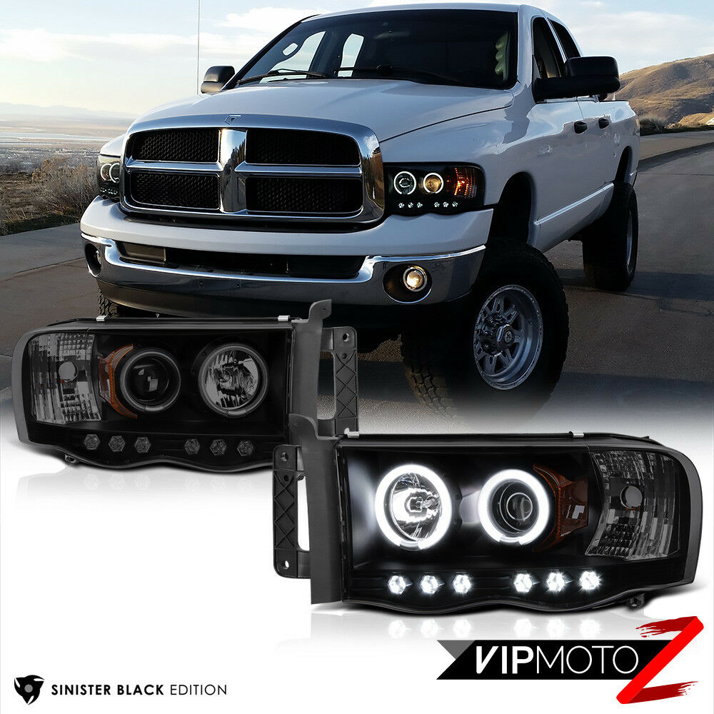 Dodge Ram 1500: LIMITED [SINISTER BLACK] 2002-2005 Dodge Ram 1500 2500