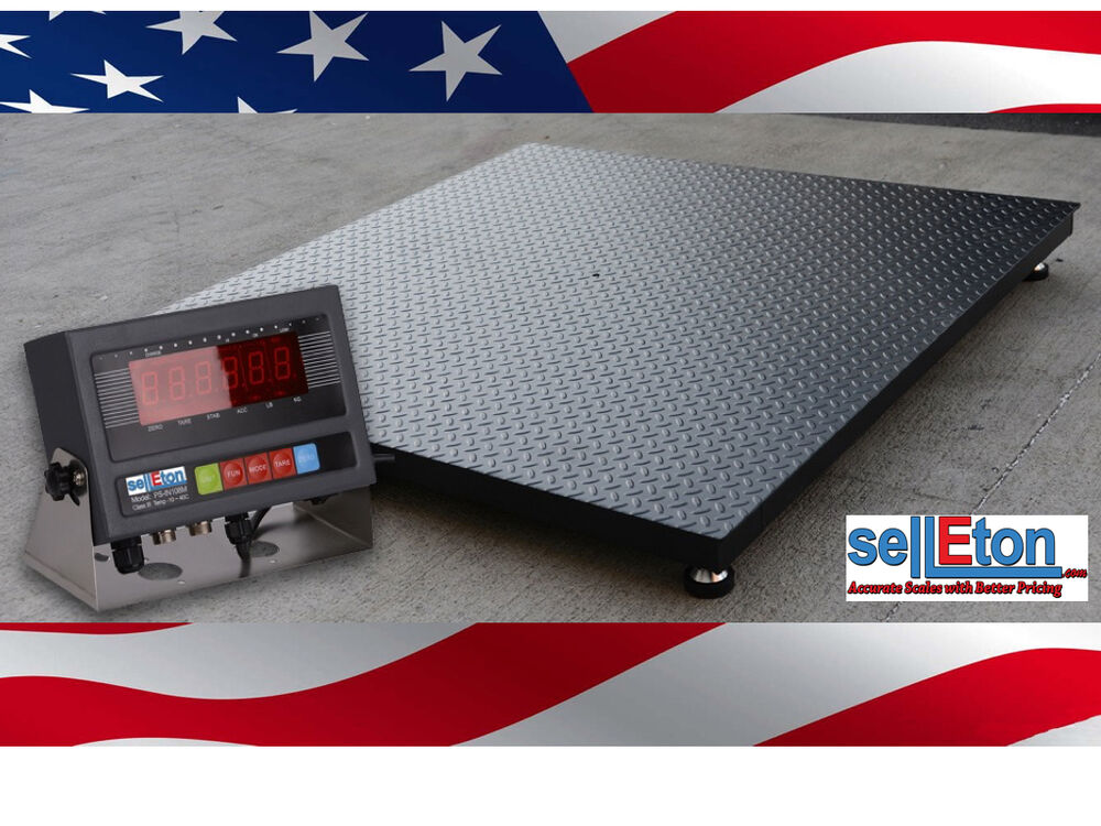 New 1000 lb x 2 lb 5 39 x7 39 60 x 84 floor scale heavy for 1000 lb floor scale