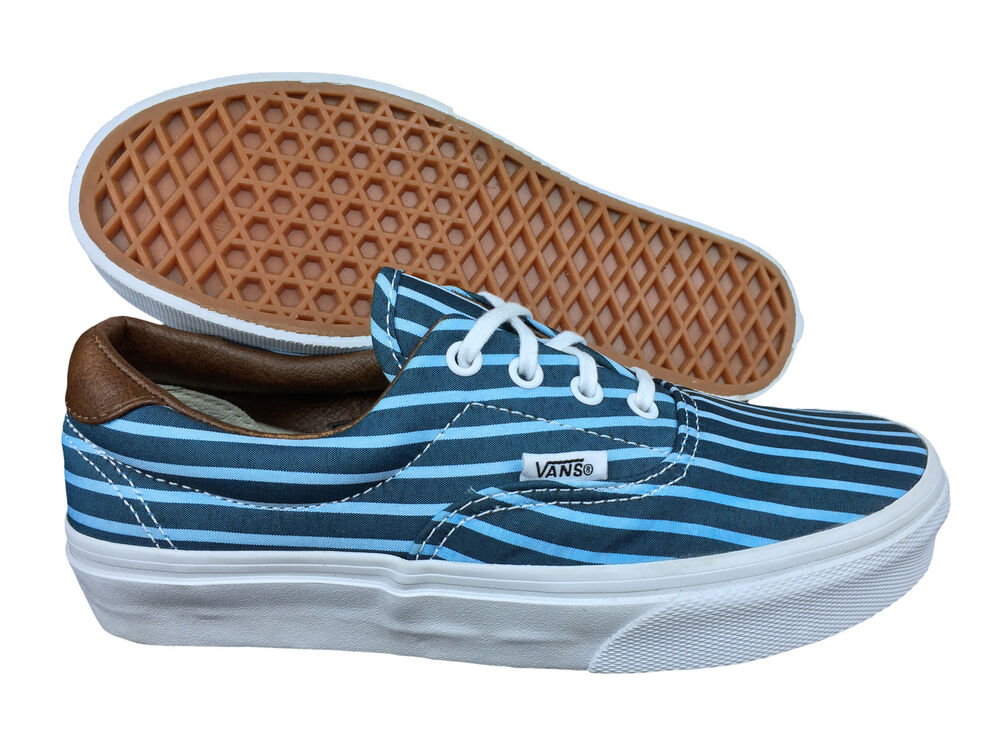Vans shoes neon blue