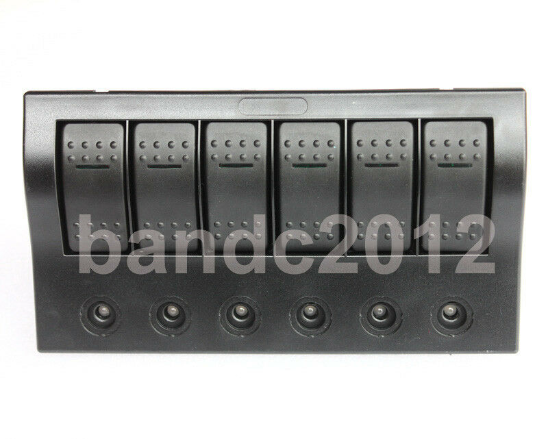 Fuse Box Switch Is Red : Gang bus marine boat bridge control led rocker switch