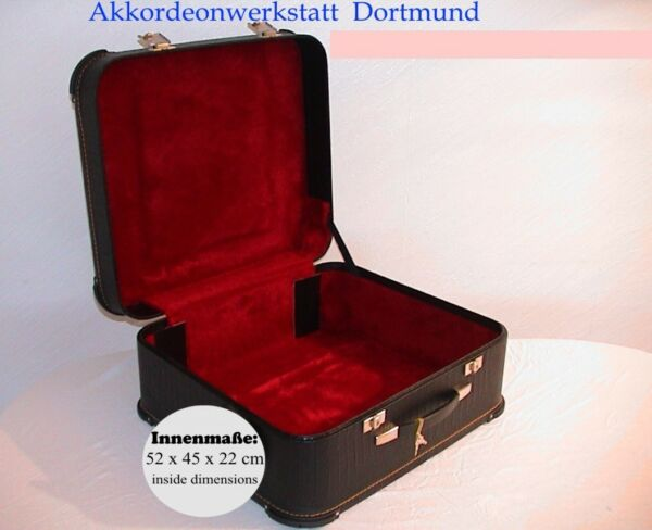 Akkordeonkoffer, Maleta de Acordeón, Valise pour Accordéon, Accordion Case