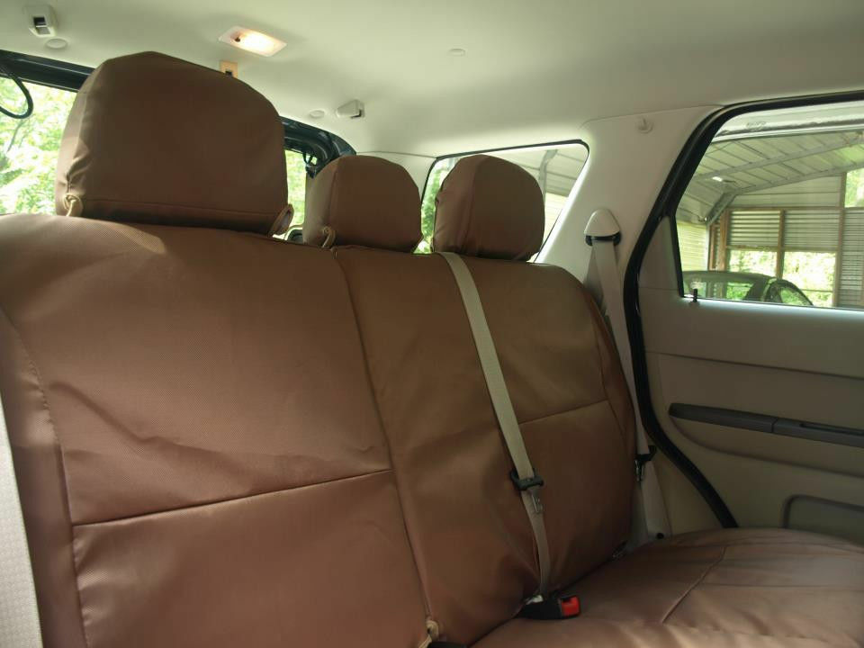 Toyota Tundra Coverking Cordura Ballistic Custom Fit Rear