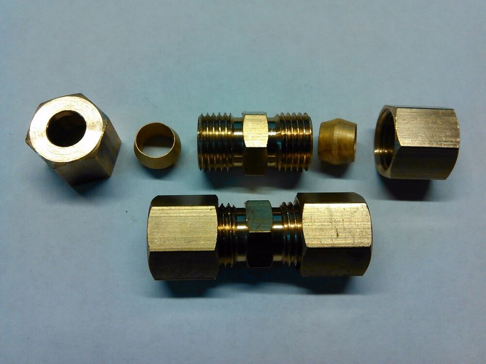 Quot union brass fittings compression p