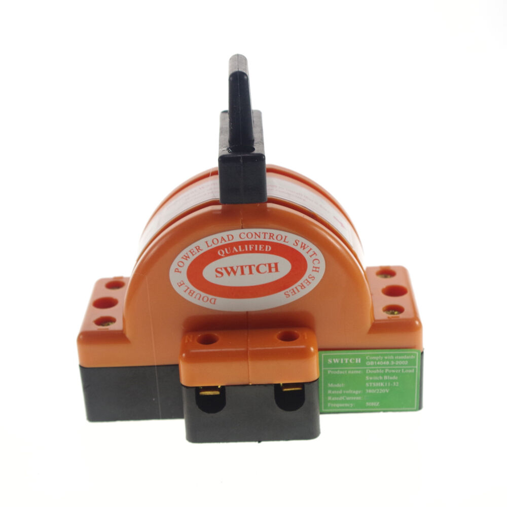 30a Two Pole Double Throw Knife Disconnect Switch 220v