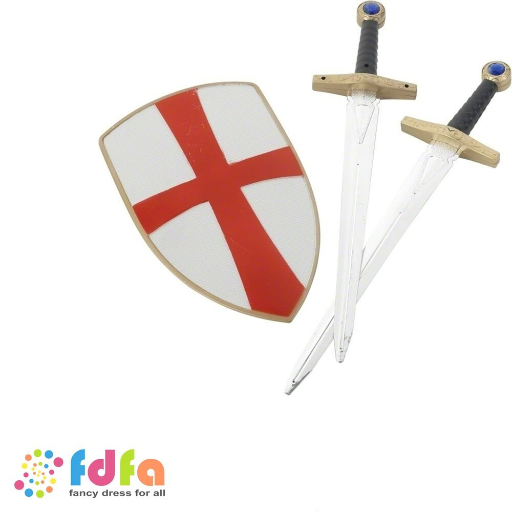 Target Toys For Boys Swords : Plastic knight crusader set swords shield kids