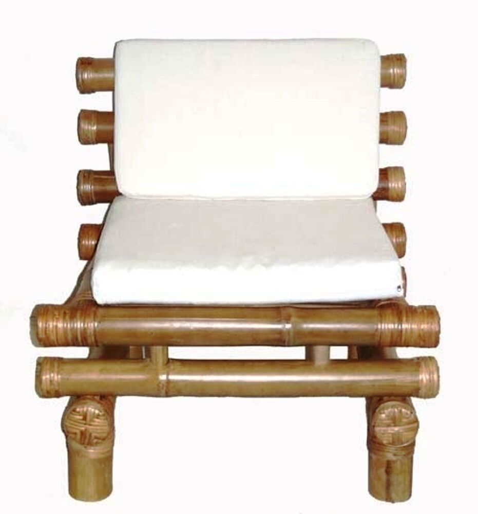 Bamboo Payang Zen Chair Low Profile -Thick Sturdy Bamboo