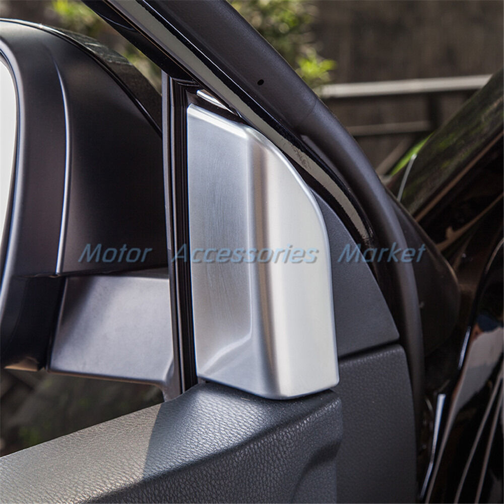 chrome interior door a pillar window trim for toyota highlander 2014 2015 2017 ebay. Black Bedroom Furniture Sets. Home Design Ideas