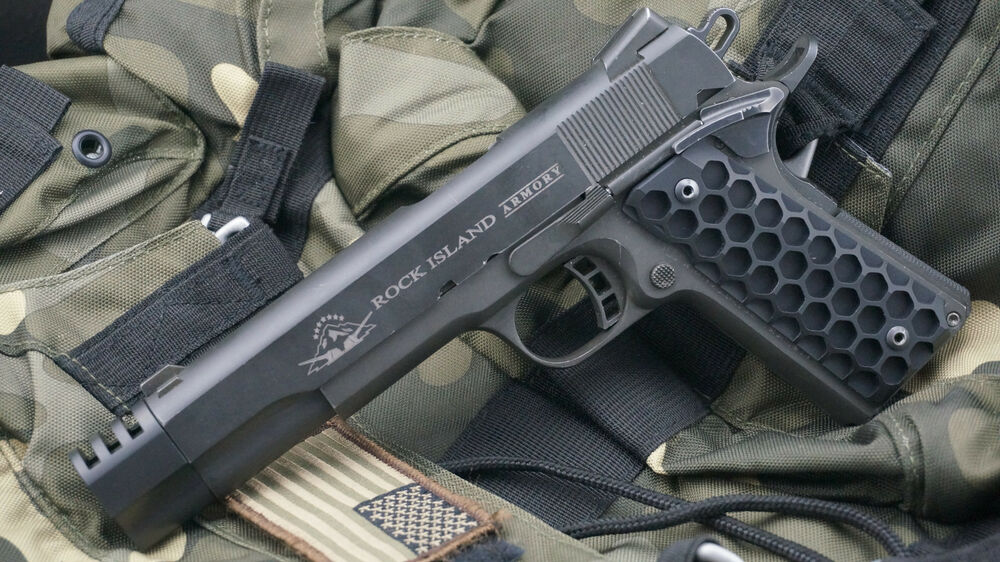 "1911 .45acp Black Punisher Muzzle Brake and ""The Hive ..."