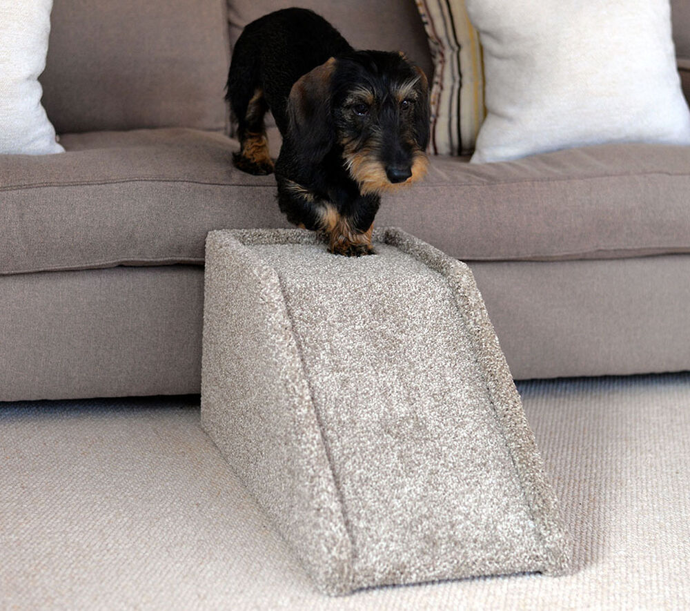 Dog Ramp Handmade Indoor Pet Cat Dog Bed Sofa Steps Stairs