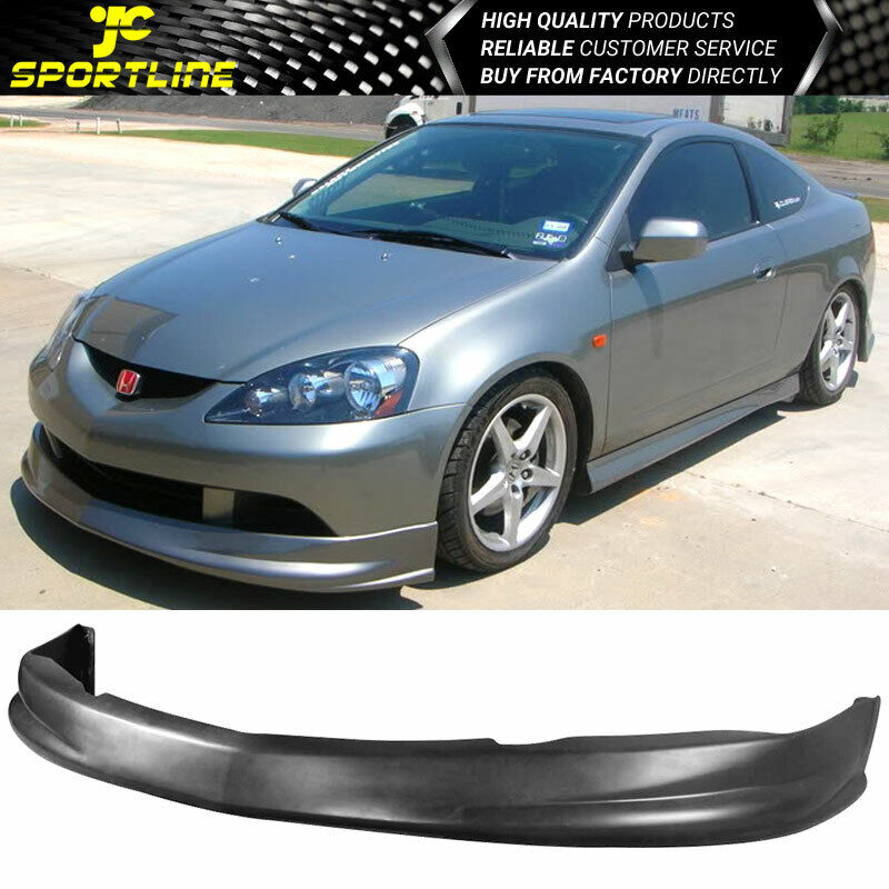 FIT 05 06 ACURA RSX COUPE DC5 P1 TYPE PU FRONT BUMPER LIP