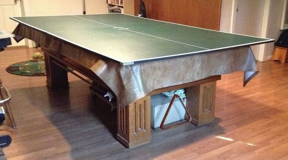 Ping Pong Kettler Table Tennis Conversion Top Made In Germany