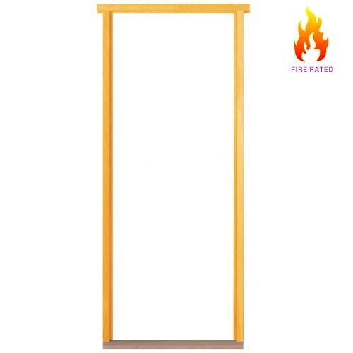 fire rated door frame softwood reversible non projecting. Black Bedroom Furniture Sets. Home Design Ideas