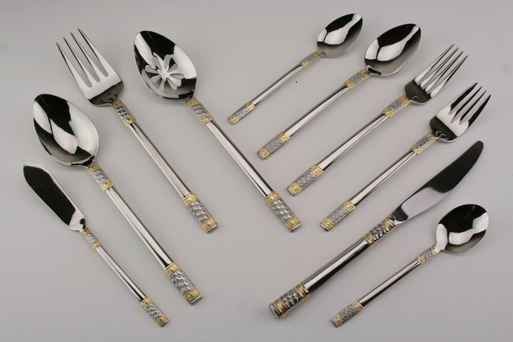 Wallace Corsica Gold 18 10 Stainless Flatware Your Choice