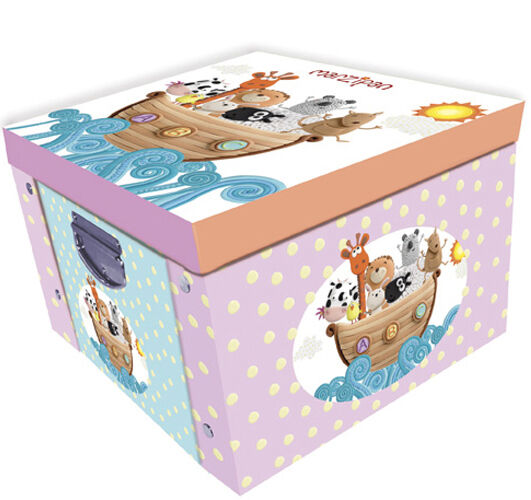 Baby Bedroom In A Box Special: Marzipan Nursery Baby Keepsake Box Large Collapsible
