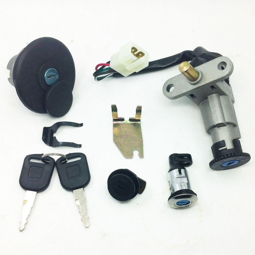 4wireScooter Ignition Switch Key Set 139QMB 50cc GY6 150cc Chinese Scooter Parts | eBay