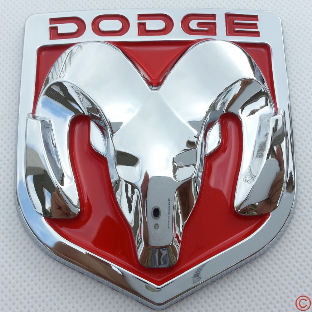 red hood head grille tailgate lid chrome emblem badge for. Black Bedroom Furniture Sets. Home Design Ideas