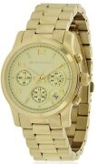 Michael Kors Chronograph Gold-Tone Ladies Watch MK5055