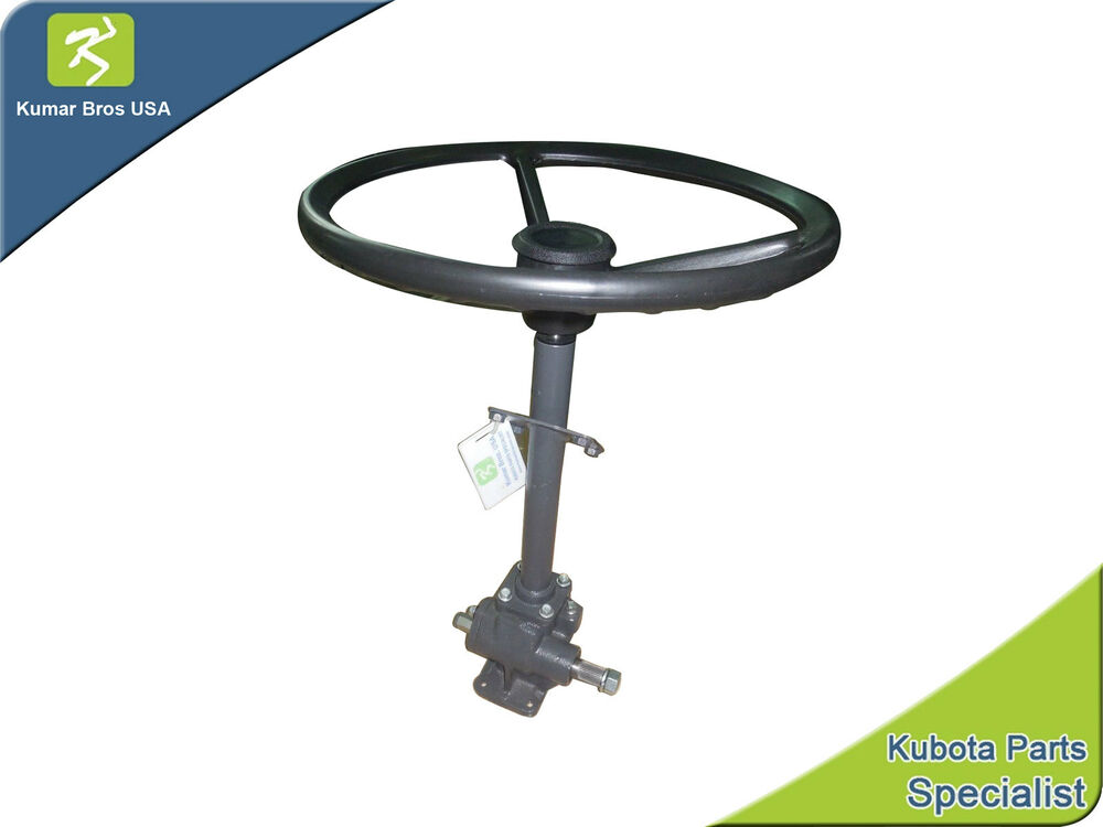 Tractor Steering Wheel Console : New kubota tractor steering box assy with wheel